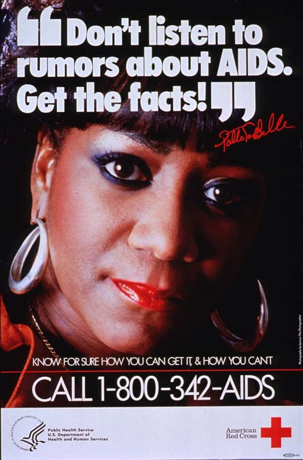 Patty LaBelle: Get the facts about AIDS