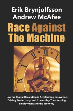 """Race Against the Machine"" book cover"