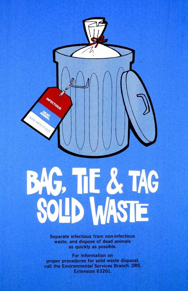 Bag, Tie and Tag Solid Waste