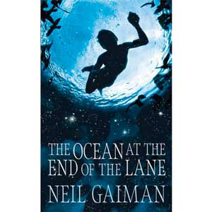 """Book cover: """"The Ocean at the End of the Lane"""""""