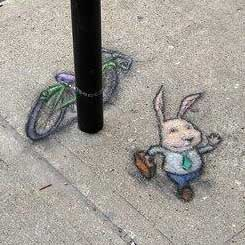 Mr. Bunny goes to work