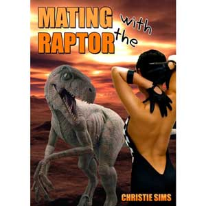 """""""Mating With The Raptor"""" book cover"""