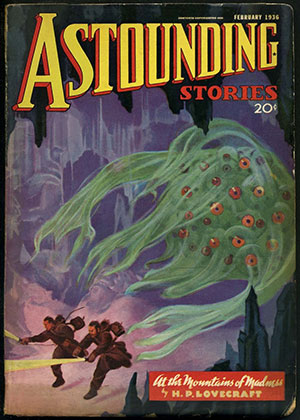 Cover of Astounding Stories magazine