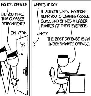 xkcd on Google Glass