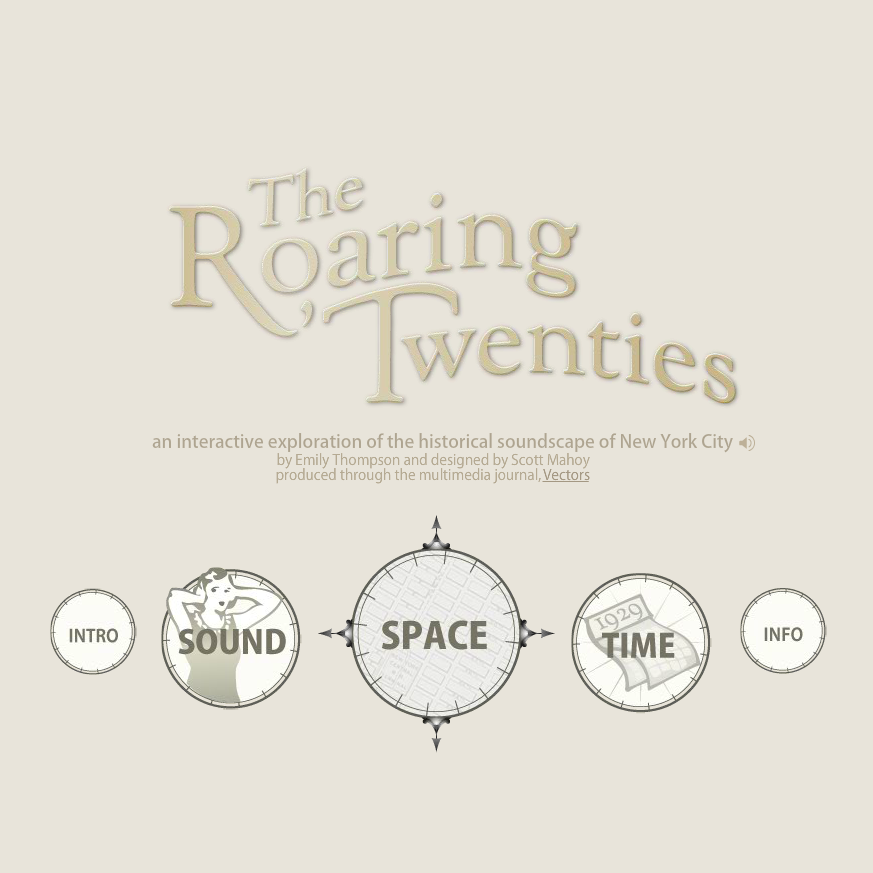 Roaring Twenties interface
