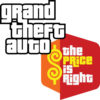 Grand Theft Auto and The Price Is Right logos
