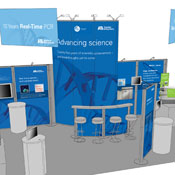 Applied Biosystems event booth