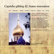 Capricho Gilding website