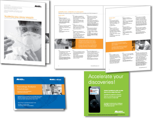 Applied Biosystems printed collateral