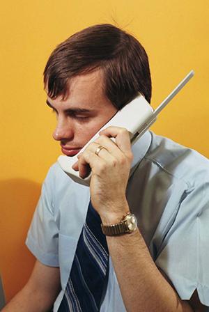 "Motorola ""brick"" mobile concept phone"