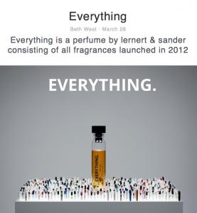 """Everything"" perfume photographs"