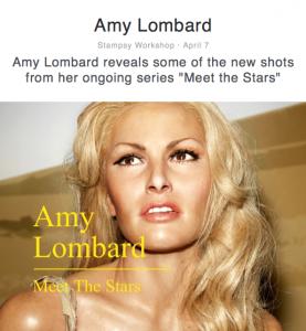 Amy Lombard glamor photos