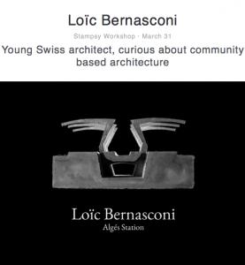 Loic Bernasconi, Swiss architect, portfolio shots