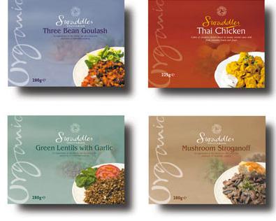 """""""Swaddles"""" food packaging"""