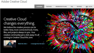 Adobe Creative Cloud advertisement