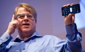 Robert Scoble wearing Google Glass