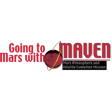 Going to Mars with Maven logo