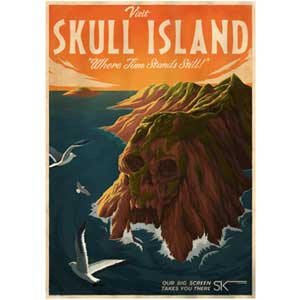 Skull Island poster