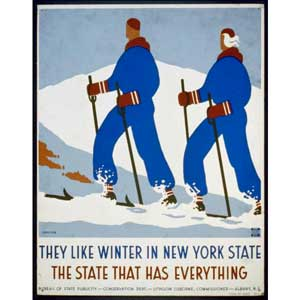 WPA Poster for New York