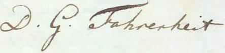 Fahrenheit signature