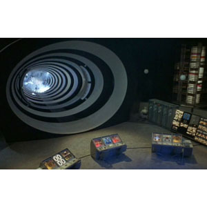 "Time machine from ""Time Tunnel"""