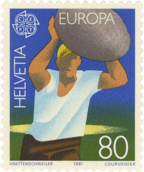Walter Haettenschweiller stamp