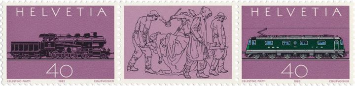 Celestino Piatti stamps
