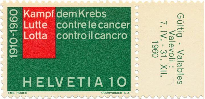 Emil Ruder stamp