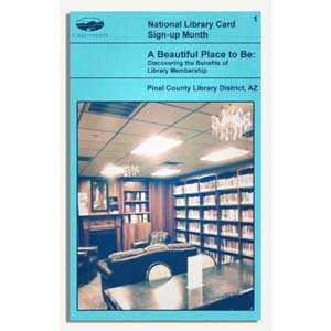 Library card benefits sample cover