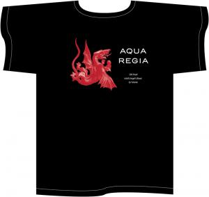 Aqua Regia black T-shirt