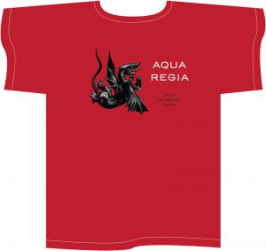 Aqua Regia red T-shirt