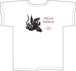 Aqua Regia white T-shirt