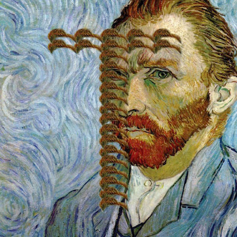 "Van Gogh self-portrait - ""T"""