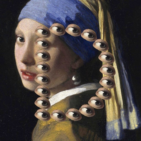 """Vermeer 'Girl with the Pearl Earring' - """"D"""""""