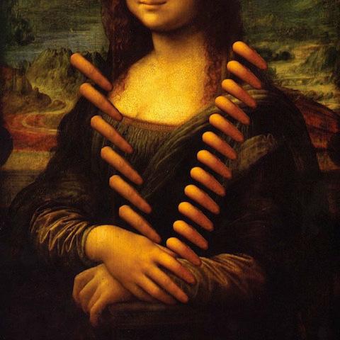 """Da Vinci 'Mona Lisa' - """"V"""""""