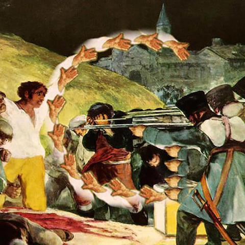 """Goya 'The Third of May 1808' - """"C"""""""