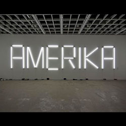 "Claire Fontaine artwork - ""AMERIKA"""