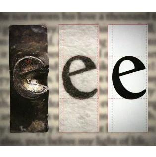 """Doves type letter """"e"""""""