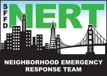 Three-color NERT logo