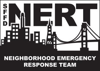 Black NERT logo