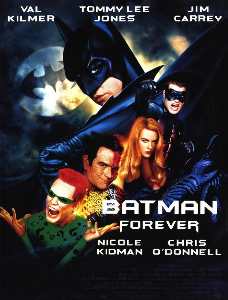 """""""Batman Forever"""" poster"""