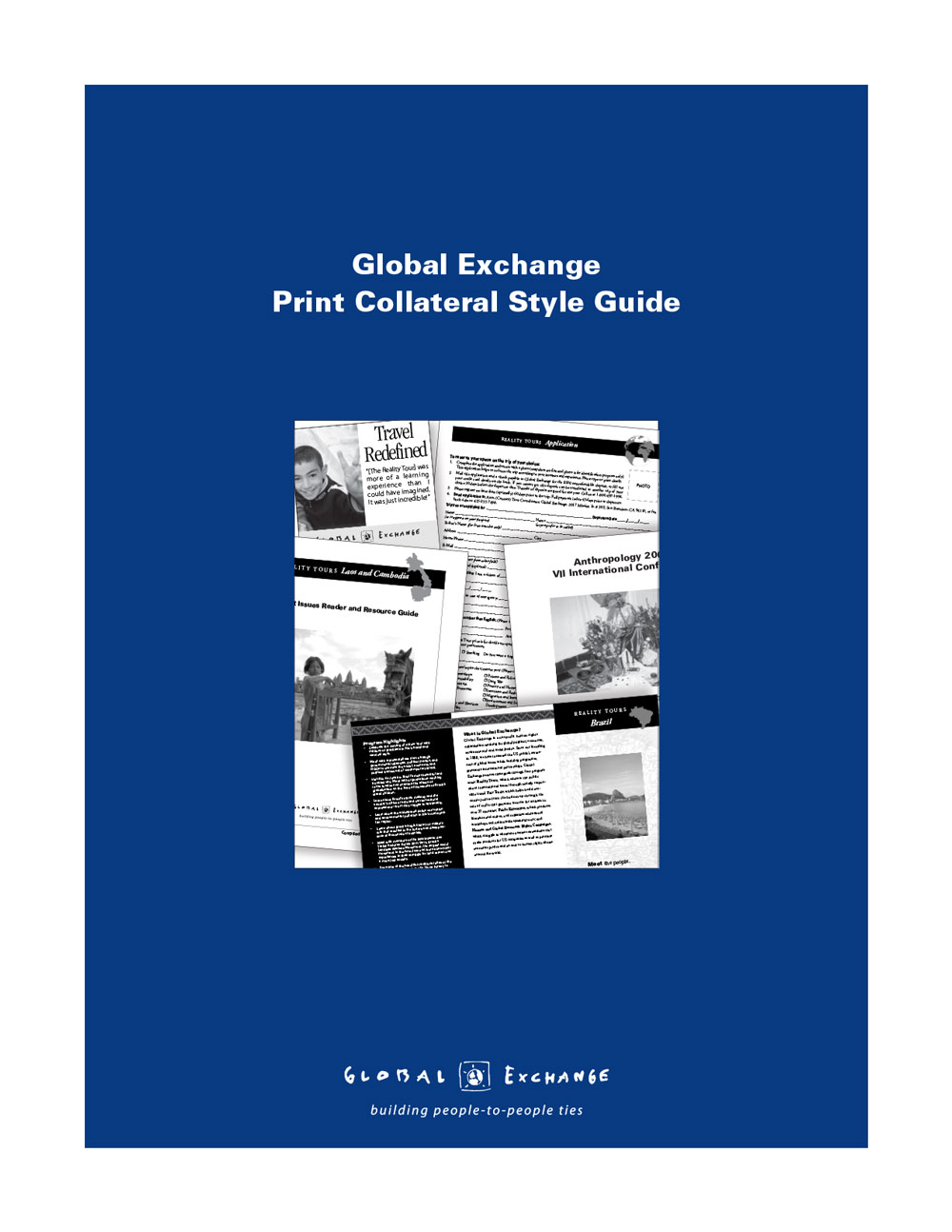 Global Exchange Style Guide cover