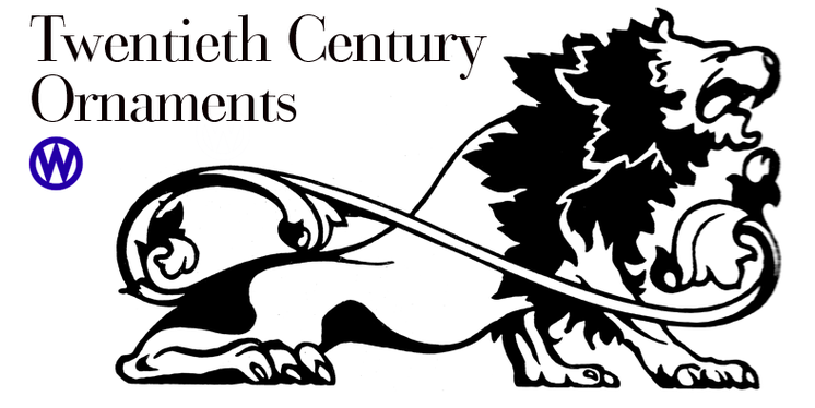 Twentieth Century ornaments 5