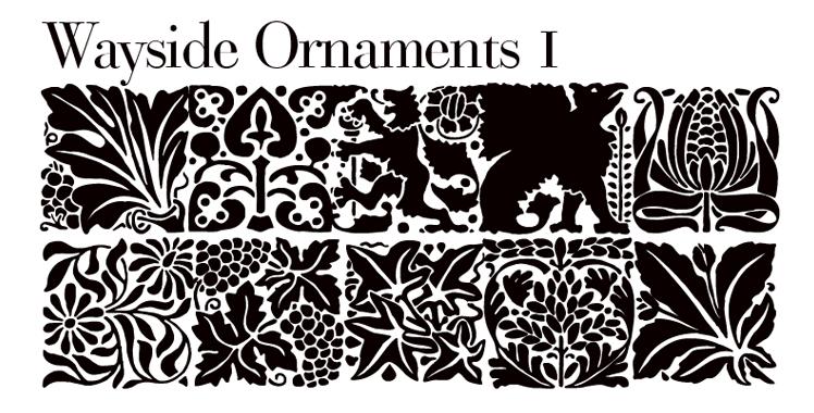 Wayside ornaments 1
