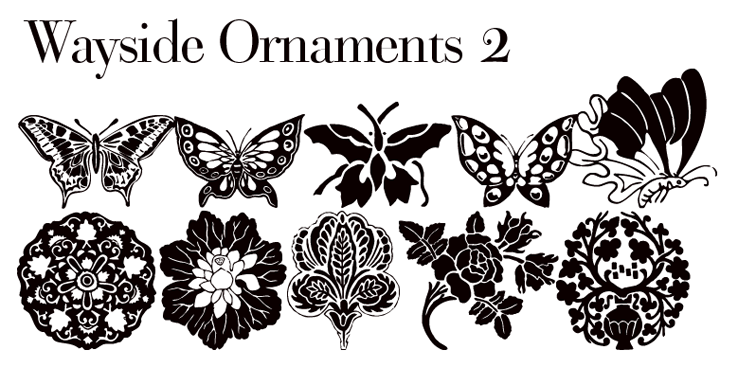 Wayside ornaments 2